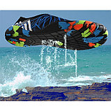 Акваобувь для плавания, цвет чёрный, фото 2