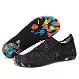 Акваобувь для плавания, цвет чёрный, фото 4