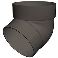 Колено трубы 67° 87x3000 мм Серый Grand Line