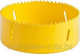 Коронка Би-металлическая, универсальная, STAYER Procut 114мм