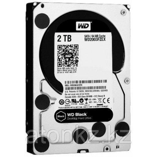 Жесткий диск Western Digital Black, 2000 GB HDD SATA WD2003FZEX, 7200rpm, 64MB cache, SATA 6Gb/s
