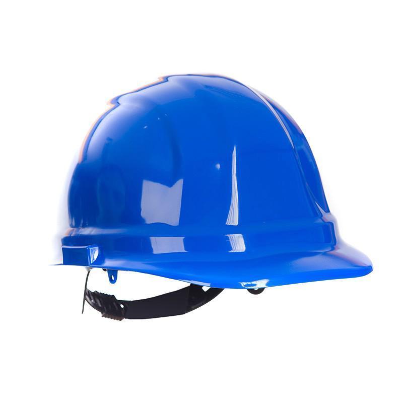 Каска защитная строительная (синяя)