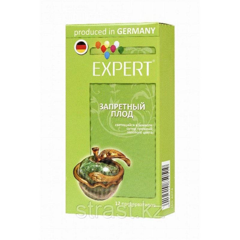 Набор презервативов EXPERT Запретный плод (светящиеся, золотые, суперпрочные, 12 шт, цена за штуку)