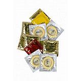 Набор презервативов EXPERT Запретный плод (светящиеся, золотые, суперпрочные, 12 шт, цена за штуку), фото 3