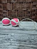 Шарики вагинальные розовые, 71 гр., фото 2