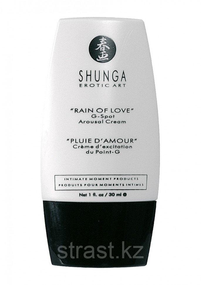 Возбуждающий крем для женщин Shunga Rain of Love Arousal, 30 мл