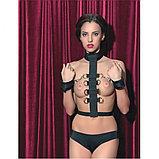Фиксаторы бондажные для рук с ошейником TOYFA Theatre, фото 2