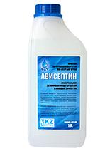 Дезинфицирующее средство Ависептин, 1 литр