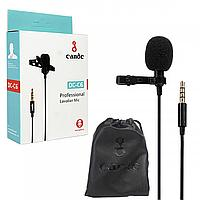 Микрофон для смартфона петличный (jack 3.5) Candc DC-C6