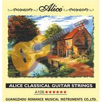 Комплект струн для классической гитары, Alice