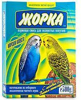 Корм Жорка для волнистых попугаев с морской капустой 500 гр