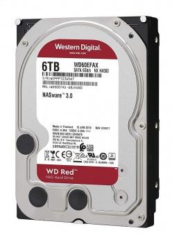 """Жесткий диск для NAS систем HDD  6Tb Western Digital RED SATA 6Gb/s 3,5"""" 256Mb 5400rpm WD60EFAX"""