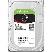 "HDD 8000 Gb Seagate IronWolf NAS, 3.5"", 256Mb, 7200rpm, Serial ATA III-600"