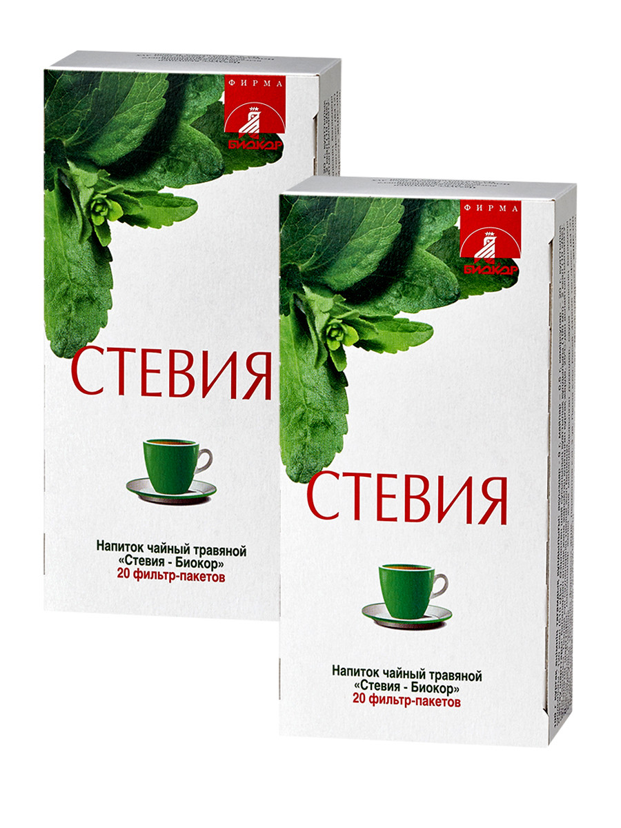 Стевия –Биокор напиток чайный травяной 2,0 №20 фильтр-пакет.
