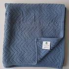 Банное полотенце 140х70 см. (Синие), фото 2