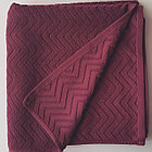 Банное полотенце 140х70 см. (Красное), фото 2