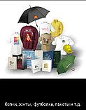 Зонты с нанесением логотипа компании, черные, фото 4
