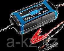 Зарядное устройство  12 В, 8 А, автомат, IP65, AGM, GEL, WET,  ЗУБР Профессионал
