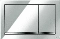 Кнопка Cersanit ENTER для LINK PRO/VECTOR/LINK/HI-TEC пластик хром глянцевый, фото 1