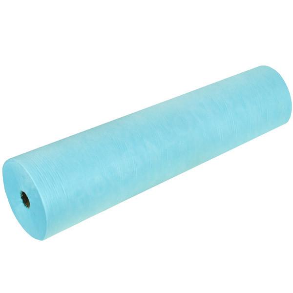 Простыни одноразовые  рулон  голубые  100шт, 200*80см   12гр