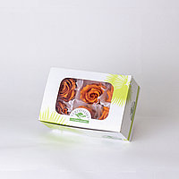 Роза Стандарт (оранжевый); 6 бутонов