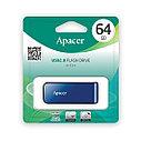 USB-накопитель Apacer AH334 64GB Синий, фото 3