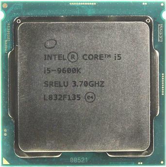 Процессор Intel Core i5-9600K (3.7 GHz), 9M, 1151,  CM8068403874404, OEM