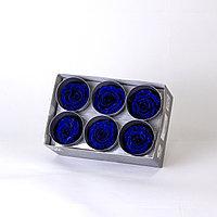 Роза Стандарт (королевский голубой);6 бутонов