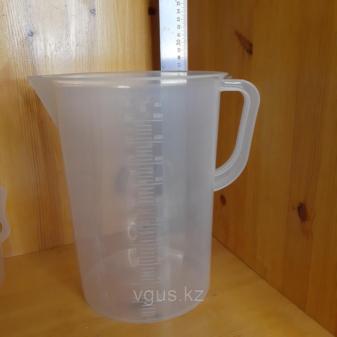 Кувшин мерный пластик 5000 мл.