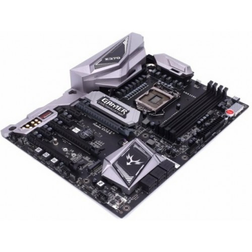 Материнская плата S-1151 Z370 Colorful iGame Vulcan X V20 <4xDDR4(до 3200), ATX, HDMI+DP, 2xM.2, Realtek ALC1