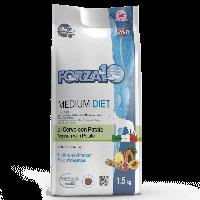 Forza10 MEDIUM DIET из оленины и картофеля. 1,5 кг