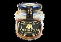 Мясо томленое (Медведь с лесн.грибами) с/б 350 гр