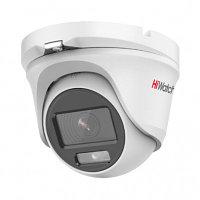 HiWatch DS-T203L (2.8mm) HD-TVI камера купольная 2 Мп Полноцветное изображение круглосуточно