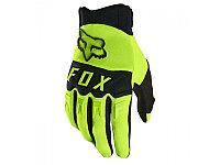 Детские перчатки FOX Мотоперчатки подростковые Fox Dirtpaw Youth Glove Flow Yellow