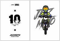 Обложки для документов JMC ACCESSORIES Обложка на документы с вкладышем Jazzmoto #22 Белая