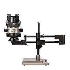 Микроскоп тринокулярный Baku BA-010T стенд регулируемый