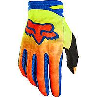 Детские перчатки FOX Мотоперчатки подростковые Fox 180 Oktiv Youth Glove Flow Yellow