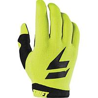 Детские перчатки SHIFT Мотоперчатки подростковые Shift White Label Bliss Youth Glove Flow Yellow