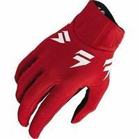 Детские перчатки SHIFT Мотоперчатки подростковые Shift White Label Trac Youth Glove Red