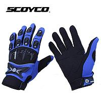 Перчатки SCOYCO Перчатки кросс Scoyco MX47 Синие