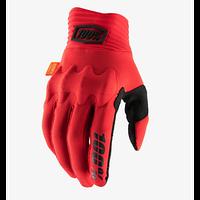 Перчатки 100% Мотоперчатки 100% Cognito D3O Glove Red/Black