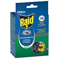 Raid комплект электрофумигатор + жидкость от комаров 30 ночей