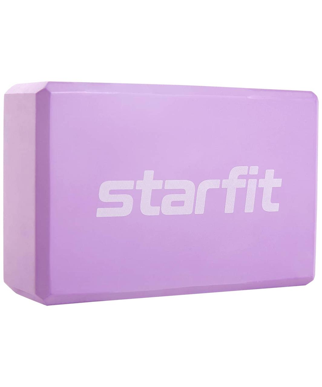 Блок для йоги Core YB-200 EVA, пастель Starfit