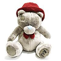 """Мягкая игрушка """"Мишка Тедди"""" 26 см в шляпе"""