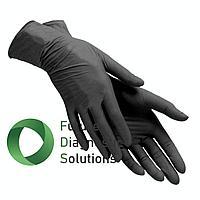 Перчатки витриловые (витрил) Черные
