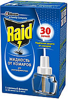 Жидкость для фумигатора от комаров Raid на 30 ночей, 21,9 мл