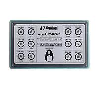 DL-CR50262, Комплект ключей для монтажа/демонтажа гайки распылителя всех форсунок CR
