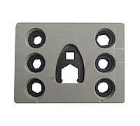 DL- UNI 50050, Комплект ключей для затягивания гайки распылителя форсунок CR