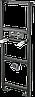 Монтажная рама для умывальника и смесителя ALCAPLAST A104A/1200