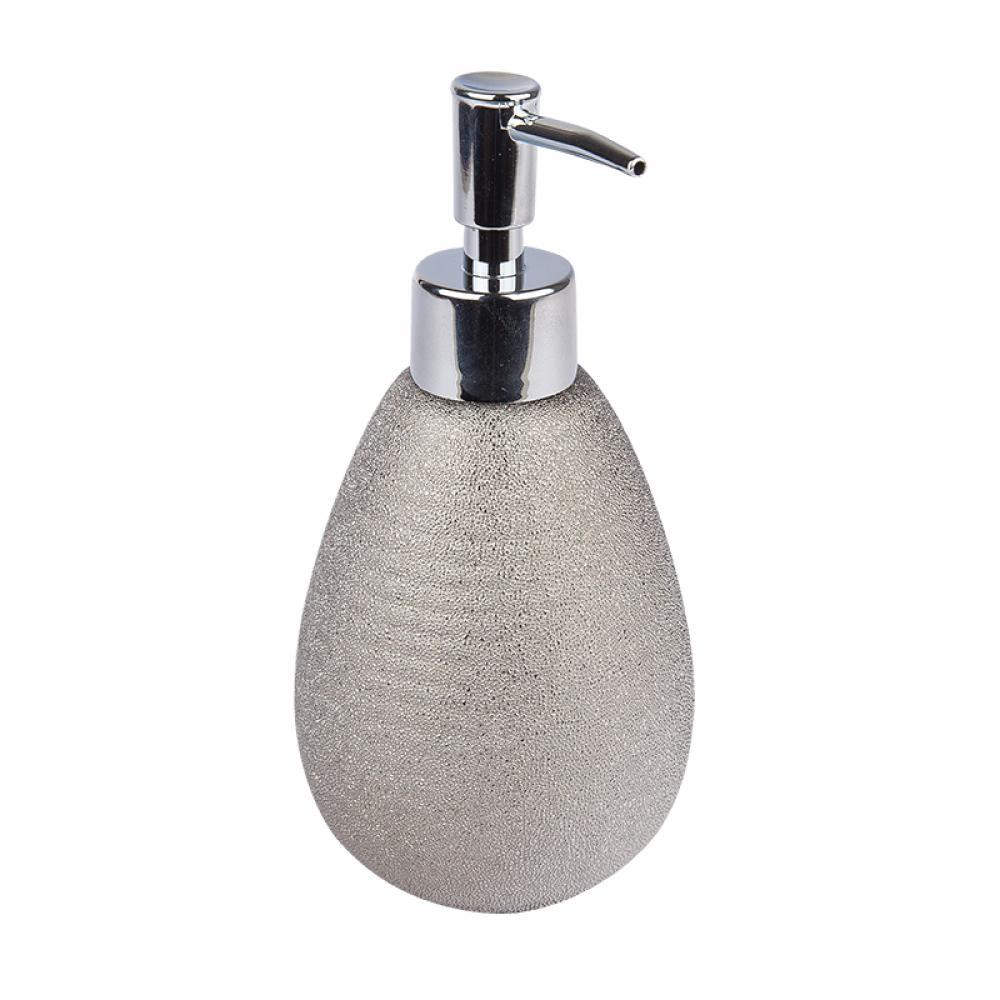 Дозатор Аквалиния для жидкого мыла керамика Silver CE0988A-LD